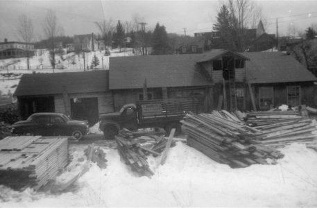 Ancien moulin à scie